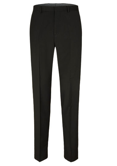 Regular: pantalon met scheerwol