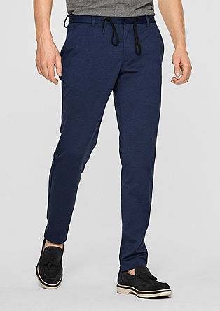 Jogg suit slim: stretchbroek