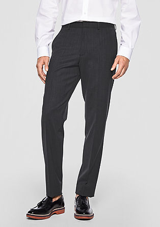 Cosimo Flex: Dobby trousers from s.Oliver