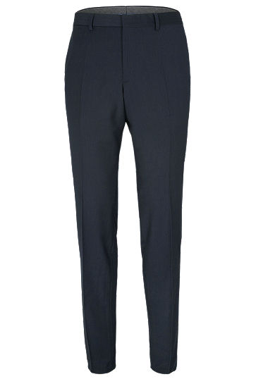 Regular: Pinstriped trousers from s.Oliver