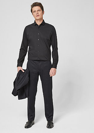 s.OFUSION Slim: stretch suit trousers from s.Oliver