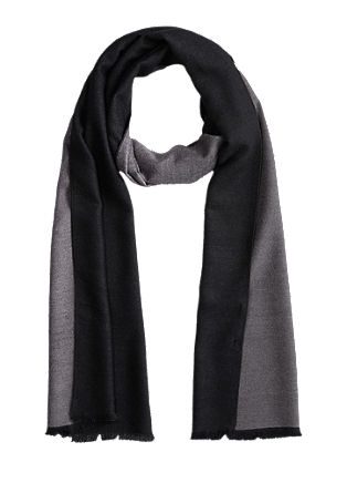Elegant shawl in a two-tone design from s.Oliver