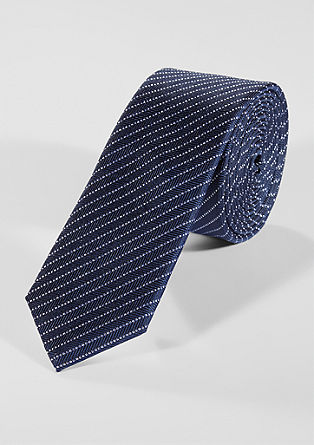 Tie with a stripe pattern from s.Oliver