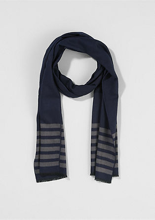 Two-tone scarf from s.Oliver