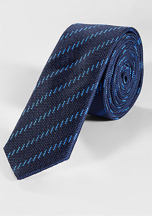 Cravate à motif rayé de s.Oliver