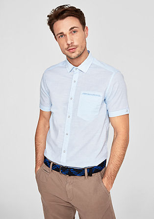 Regular: Mixed pattern short sleeve shirt from s.Oliver