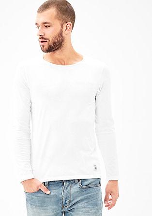 Schmales Jerseyshirt