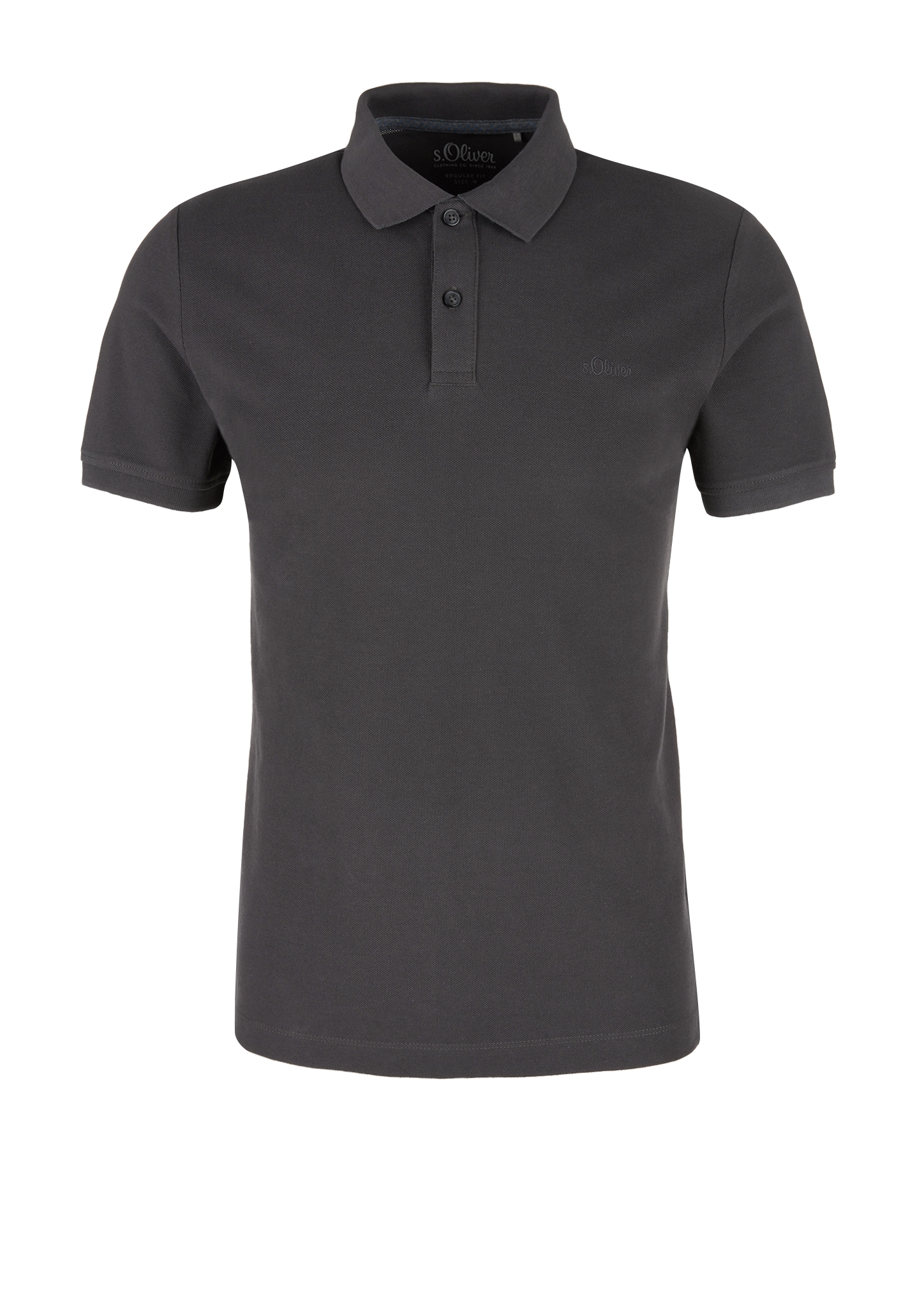 Poloshirt | Bekleidung > Polo Shirts | Grau | Meliert: 60% baumwolle -  40% polyester| unifarben: 100% baumwolle | s.Oliver