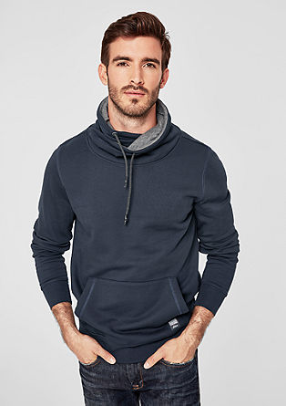 Polo neck sweatshirt from s.Oliver