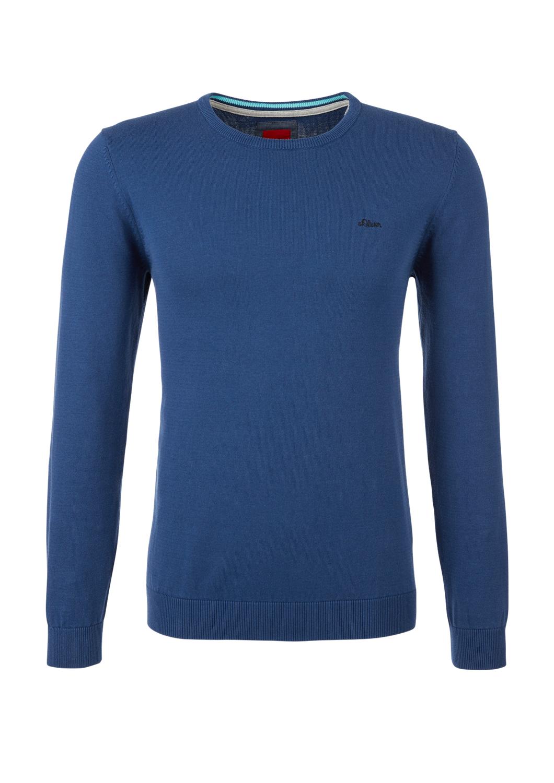 Pullover | Bekleidung | Blau | 100% baumwolle | s.Oliver