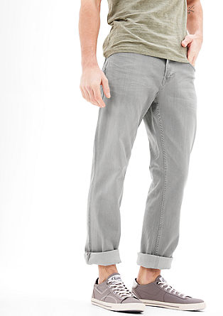 Tubx Straight:Helle Stretch-Jeans