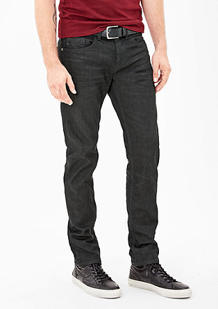 Close Slim: Jeans with pre-worn creases from s.Oliver