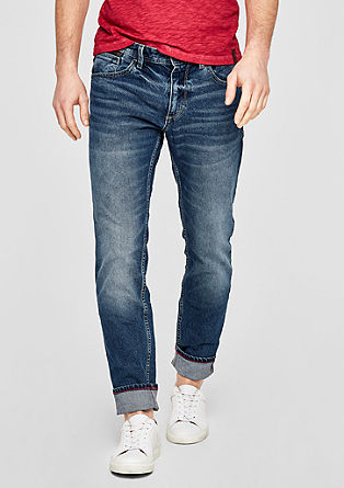 Tubx Straight: jeans with a washed finish from s.Oliver