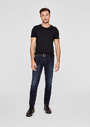 Tubx Regular: jeans with a belt from s.Oliver