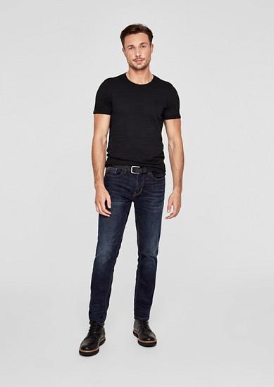 Tubx regular: jeans met riem