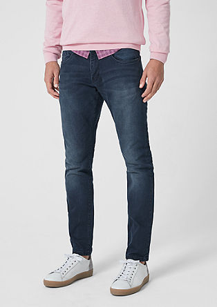 Stick Skinny: jeans with a belt from s.Oliver