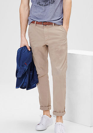 new high best prices the best Sneck Slim: chinos with a belt