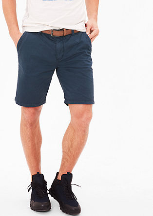 Plek Loose: shorts with a belt from s.Oliver