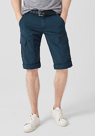 File Loose: Lightweight cargo Bermudas from s.Oliver