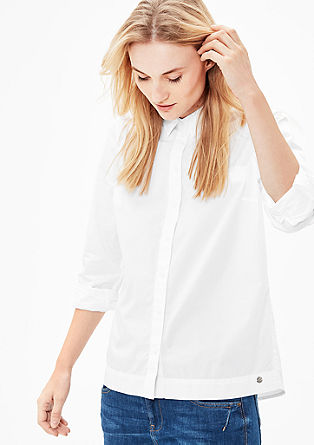 Cotton blouse in a modern shape from s.Oliver