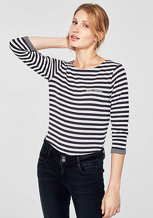 Double-faced top with a pattern from s.Oliver