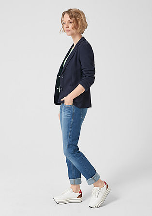 Sweatshirt suknjič s teksturo