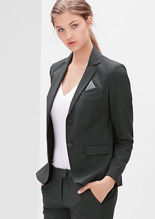 Elegant stretch blazer from s.Oliver