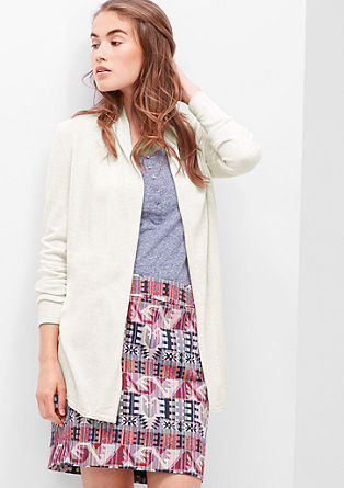 Fine wrap-over cardigan from s.Oliver