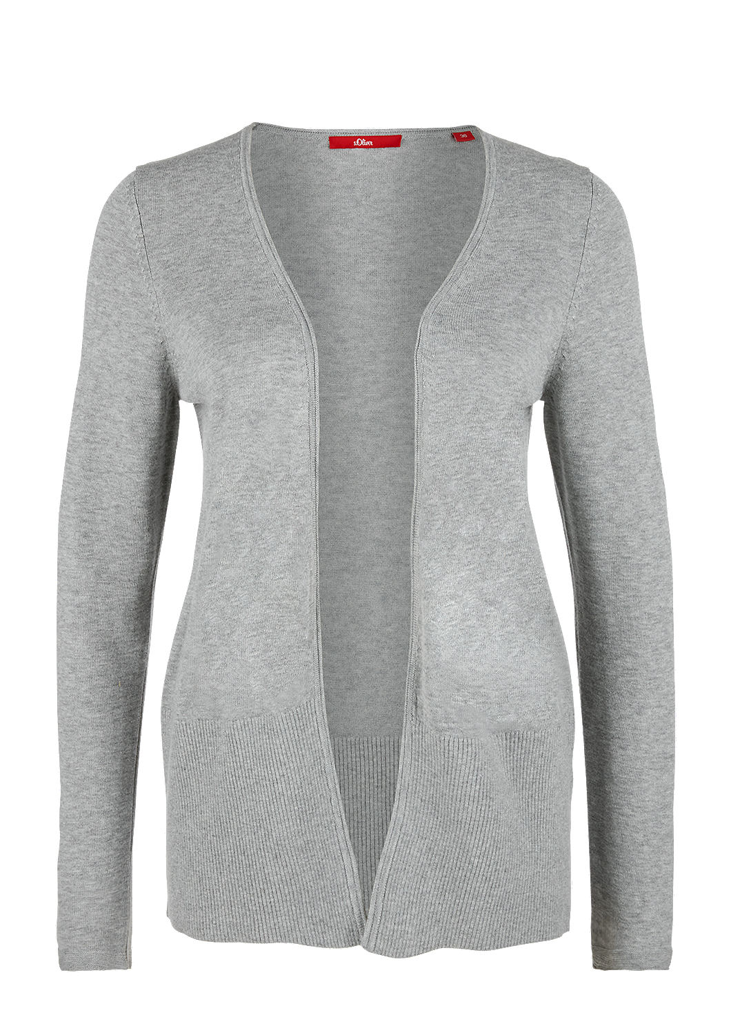 new high quality classic fit on feet images of Offener Cardigan aus Feinstrick kaufen   s.Oliver Shop