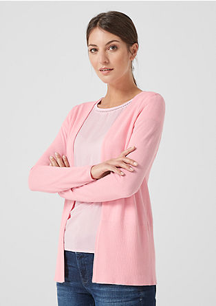 Casual basic cardigan from s.Oliver