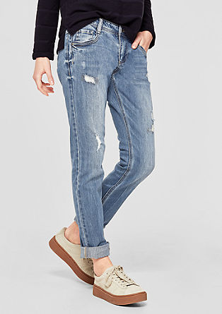 Shape Slim: Destroyed Denim