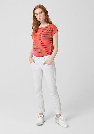Shape Slim: jean blanc de s.Oliver