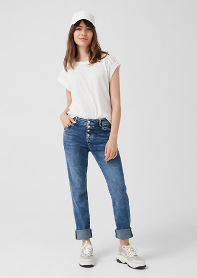 Smart Straight: jean à braguette boutonnée de s.Oliver