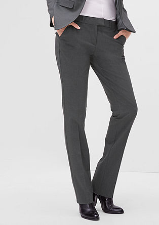 Smart Straight: stretch trousers from s.Oliver