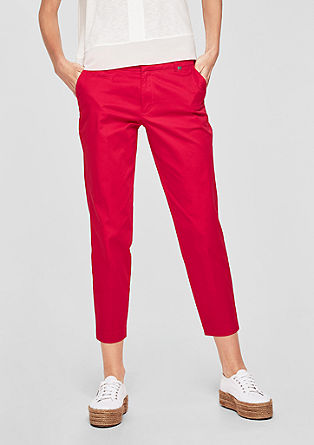 Shape Ankle: summery chinos from s.Oliver