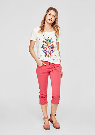 Shape Capri: washed jeans from s.Oliver