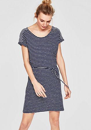 Kleid im Streifen-Design