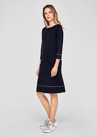 Oboustranné pletené šaty