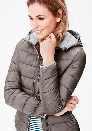 Jacke in Light Down-Optik