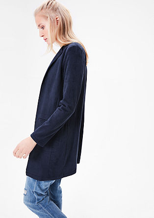 Faux suede coat from s.Oliver
