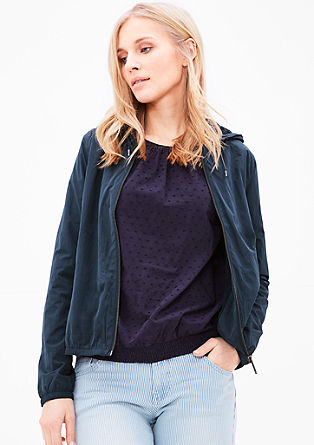 Lightweight bomber jacket from s.Oliver