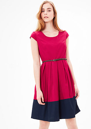 Flared cotton dress from s.Oliver