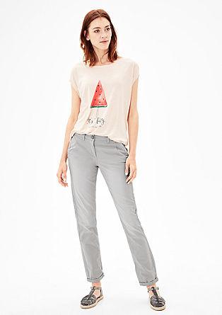 Smart Chino: lehké bavlněné kalhoty