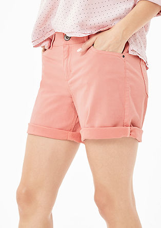 Smart Short: Kurze Twill-Hose