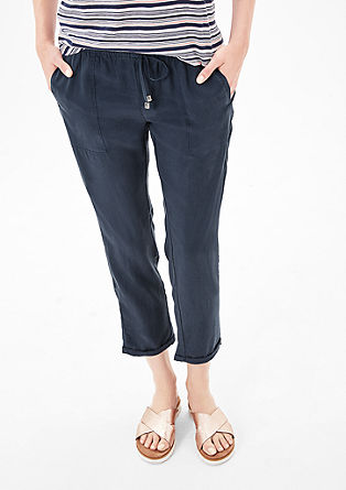 Shape Ankle: lyocell trousers from s.Oliver