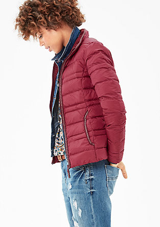 Schmale Light Down-Steppjacke
