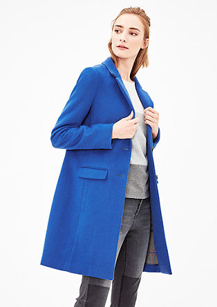 classic wool coat from s.Oliver