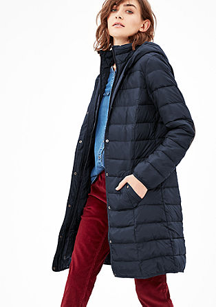 Lightweight quilted down coat from s.Oliver
