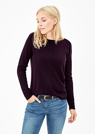 Jumper with wool and cashmere from s.Oliver
