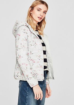 Lightweight, reversible quilted jacket from s.Oliver